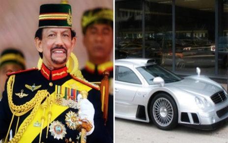 Bongkar Garasi Raja Brunei, Ini 4 Mobil Langka