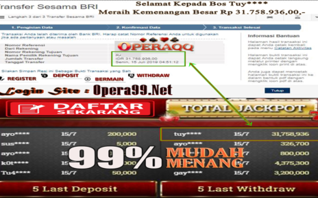 OperaQQ Situs Kartu Online Kemenangan Terbesar